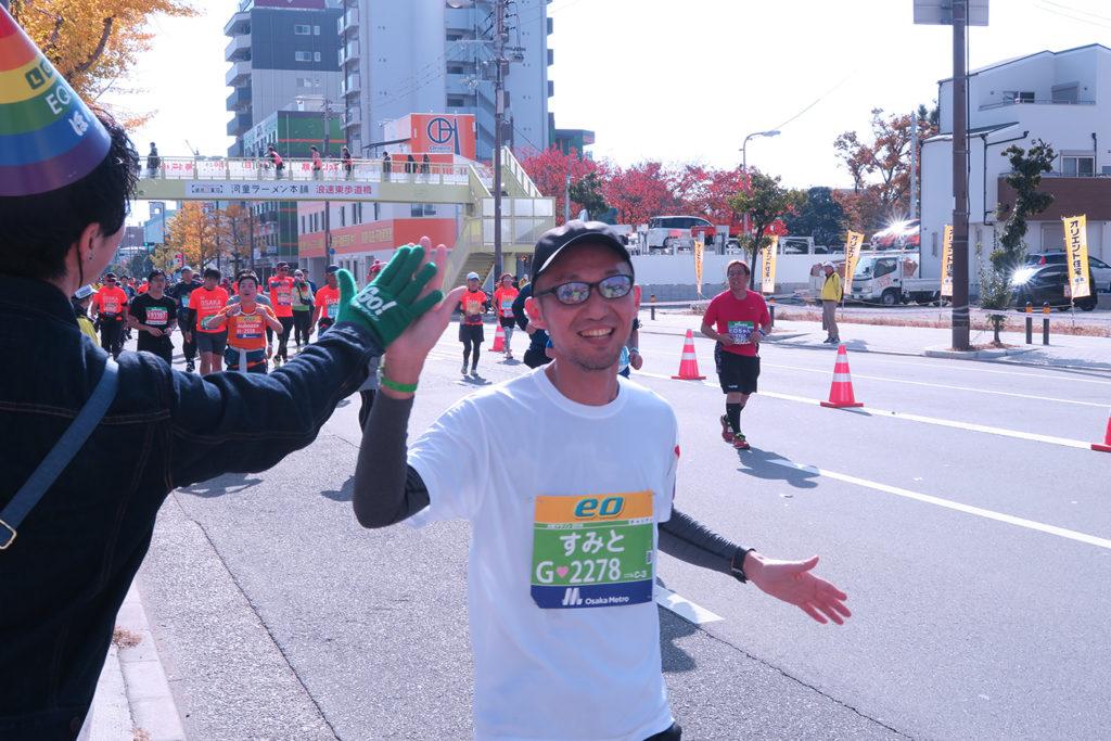 大阪マラソン当日_19