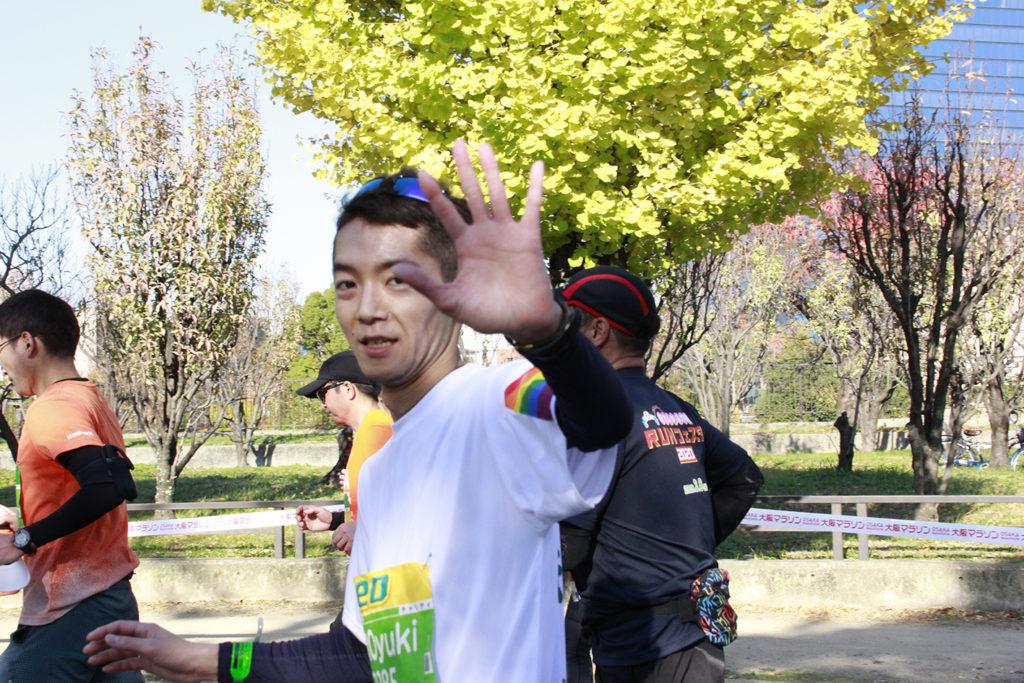 大阪マラソン当日_22